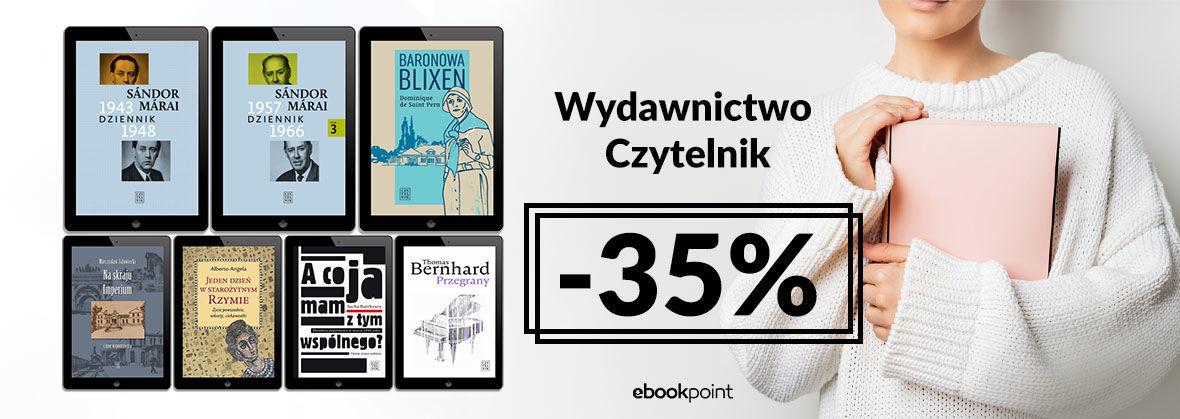 Promocja na ebooki Wydawnictwo Czytelnik [-35%]